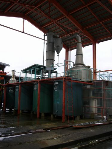 日本発酵化成蒸留施設