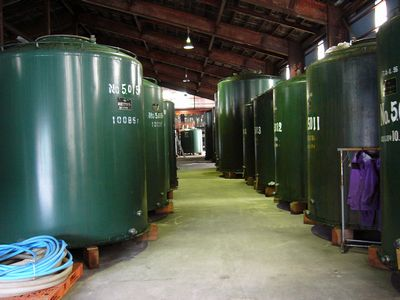 日本発酵化成 貯蔵タンク